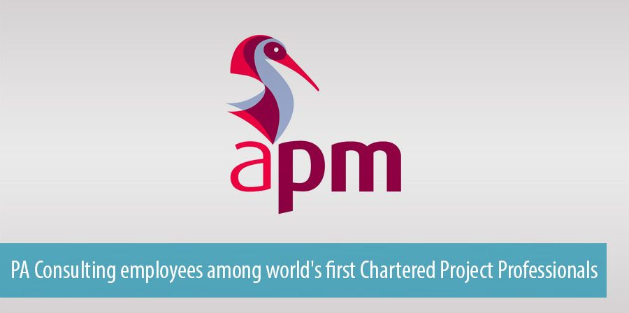 PA Consulting employees among world's first Chartered Project Professionals