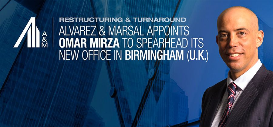 Alvarez & Marsal opens 2nd UK office in Birmingham
