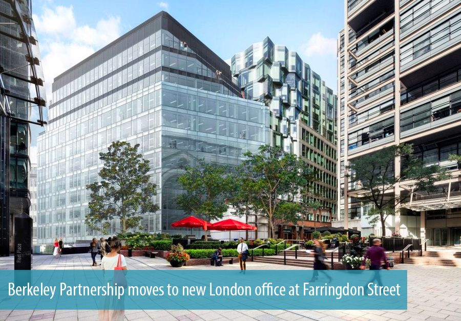 Berkeley Partnership moves to new London office at Farringdon Street