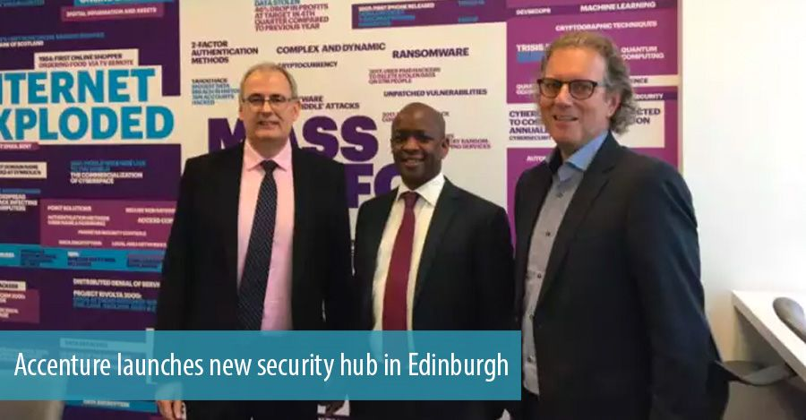 Accenture launches new security hub in Edinburgh