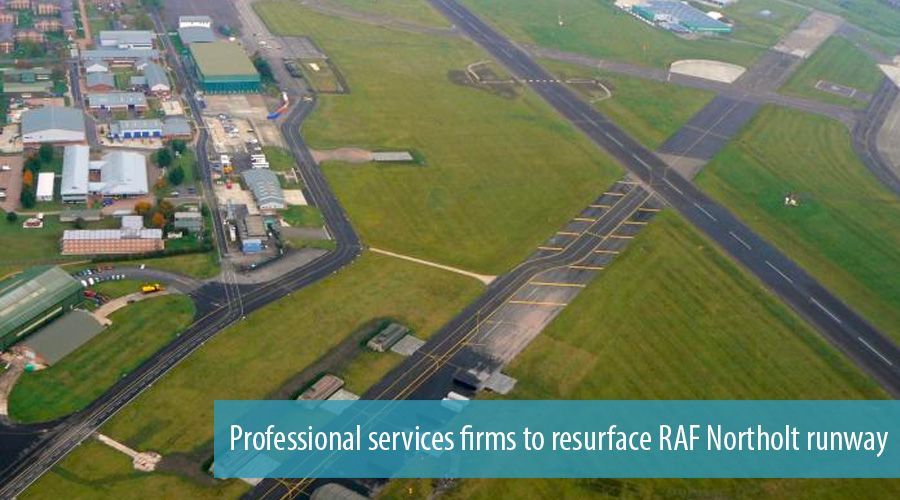Professional services firms to resurface RAF Northolt runway