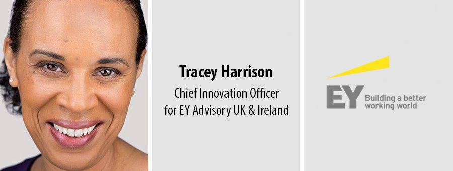 Tracey Harrison, Chief Innovation Officer for EY Advisory UK & Ireland