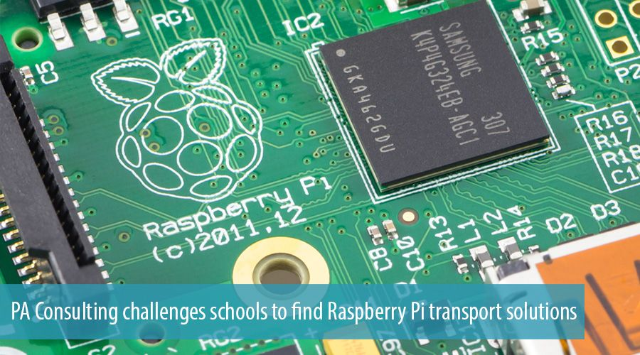PA Consulting challenges schools to find Raspberry Pi transport solutions
