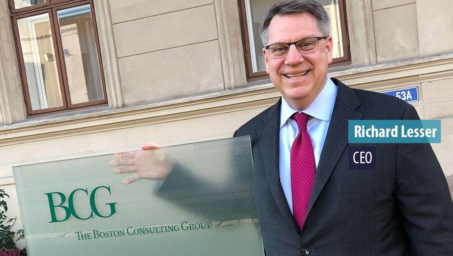Richard Lesser CEO of the Boston Consulting Group