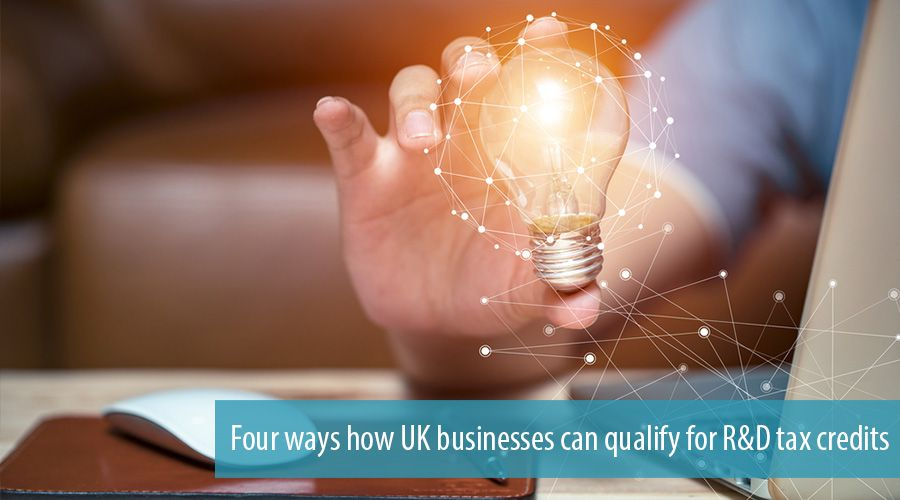 Four ways how UK businesses can qualify for R&D tax credits
