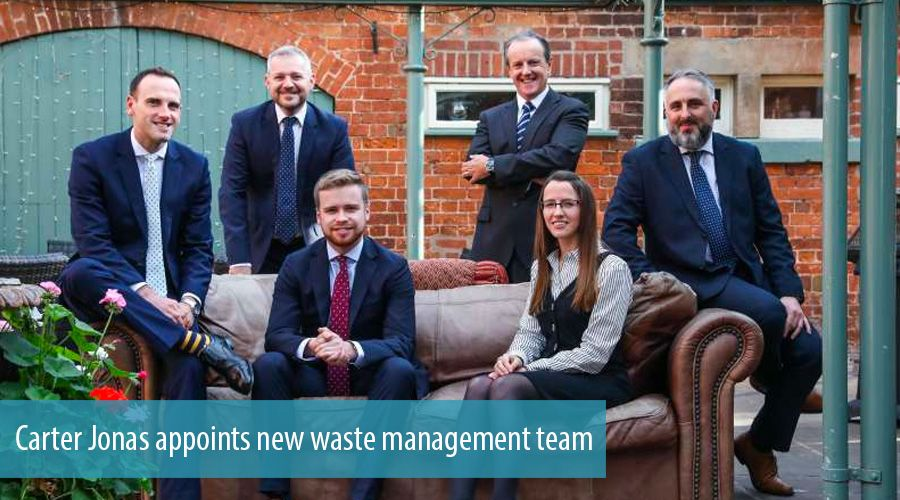 Carter Jonas appoints new waste management team