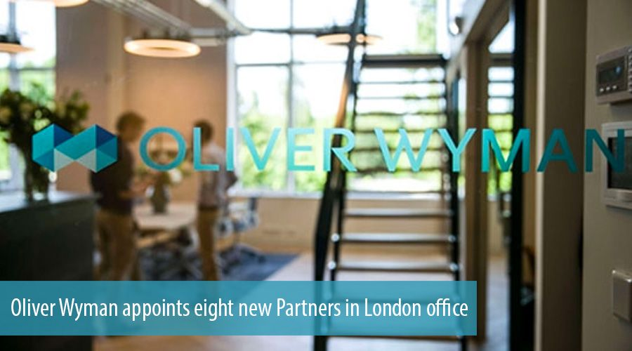 Oliver Wyman appoints eight new Partners in London office