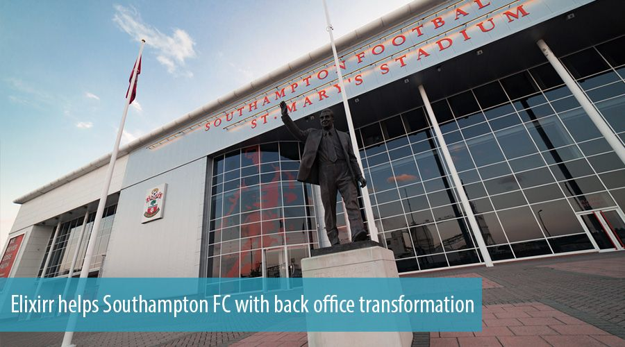 Elixirr helps Southampton FC with back office transformation