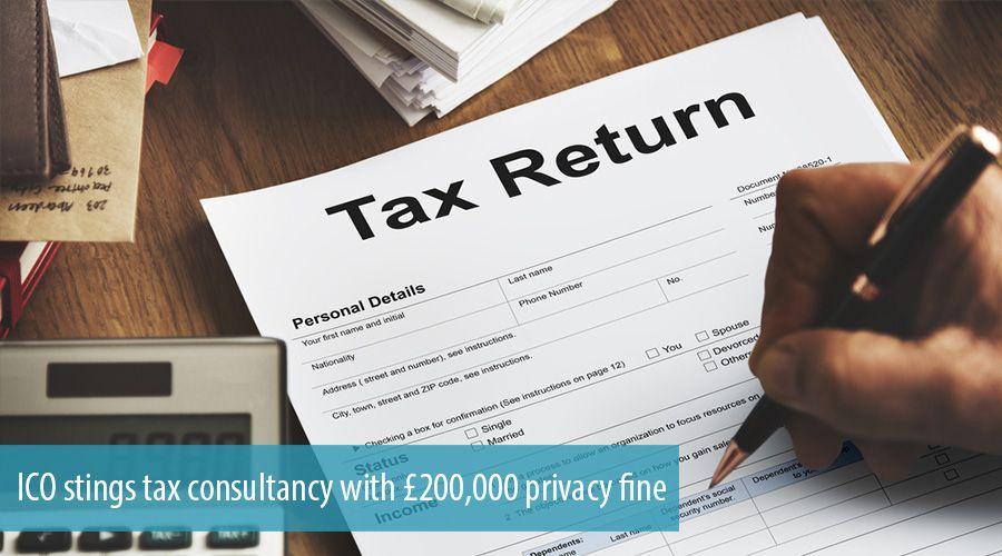 ICO stings tax consultancy with £200,000 privacy fine