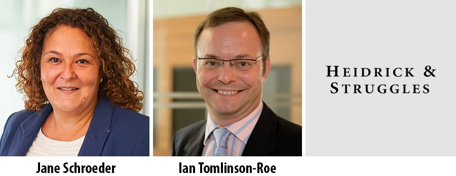 Jane Schroeder and Ian Tomlinson-Roe join Heidrick Consulting