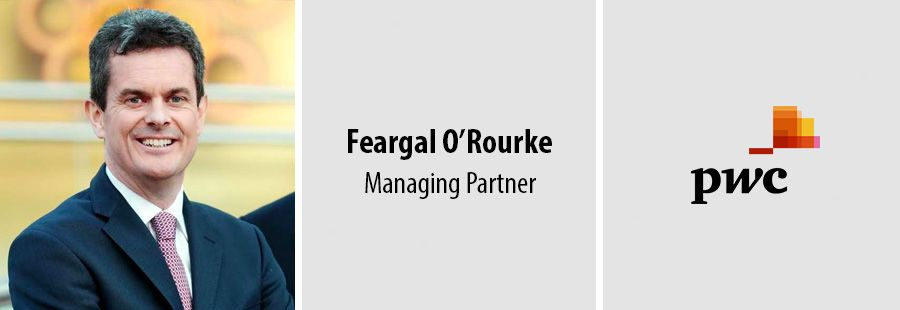 Feargal O'Rourke re-elected to lead PwC Ireland