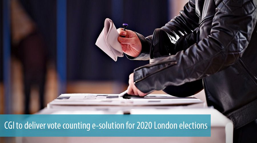 CGI to deliver vote counting e-solution for 2020 London elections