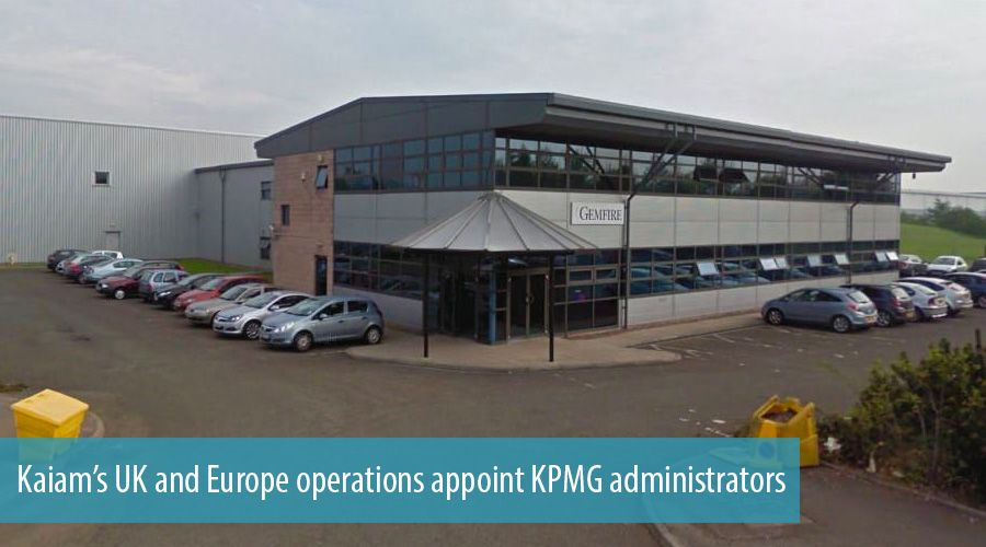 Kaiam's UK and Europe operations appoint KPMG administrators