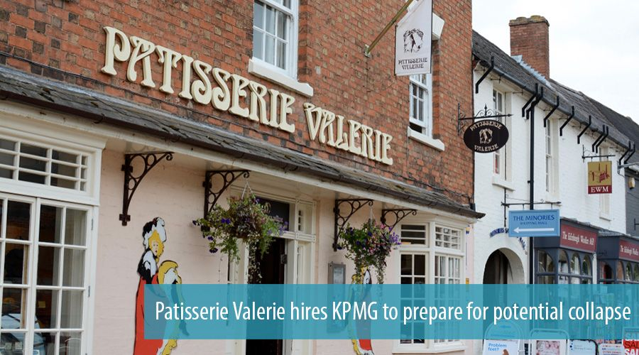 Patisserie Valerie hires KPMG to prepare for potential collapse