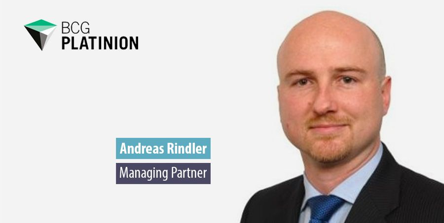 BCG Platinion off to a flying start in the UK, says Andreas Rindler