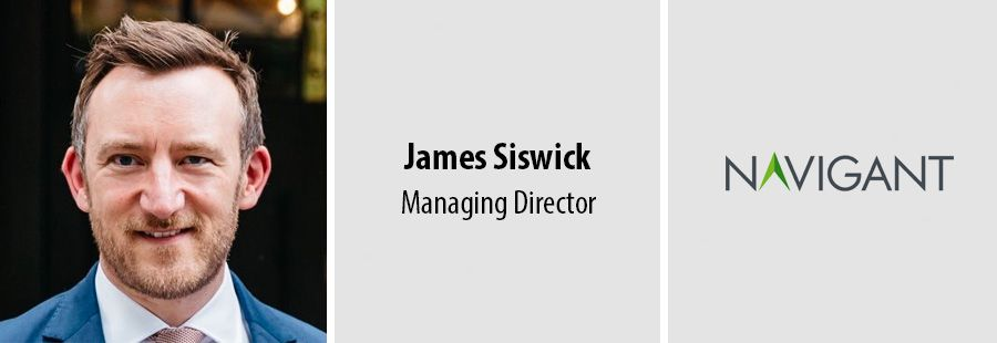 KPMG Partner James Siswick joins Navigant in London
