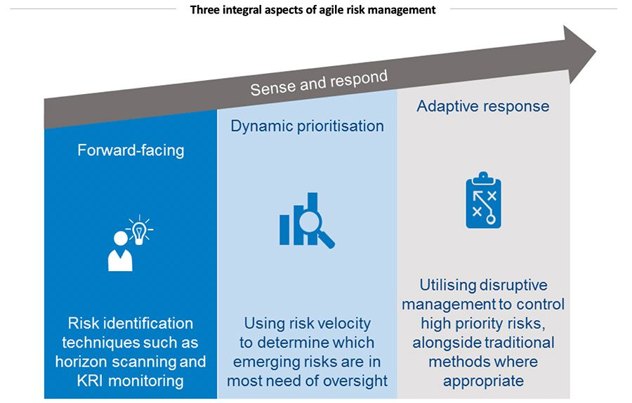 Three integral aspects of agile risk management