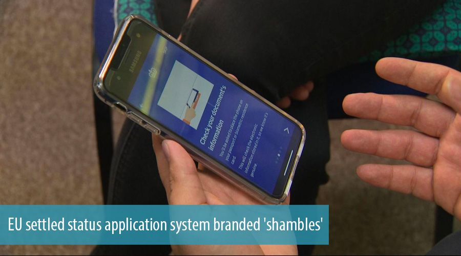 EU settled status application system branded 'shambles'