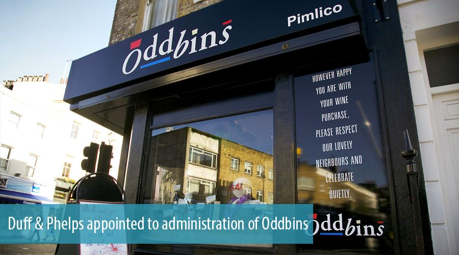 Duff & Phelps appointed to administration of Oddbins