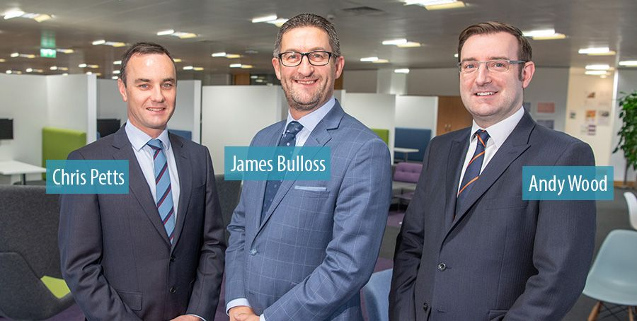 Chris Petts and James Bulloss promoted by Grant Thornton UK