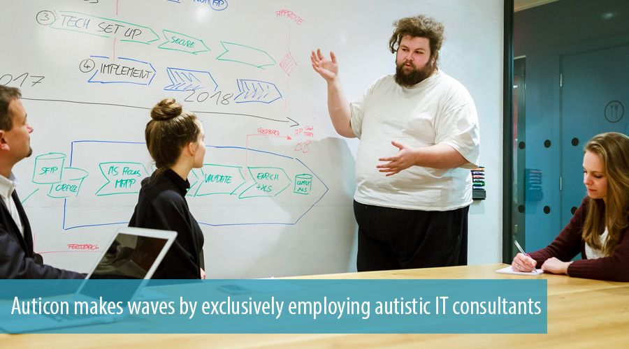 Auticon makes waves by exclusively employing autistic IT consultants