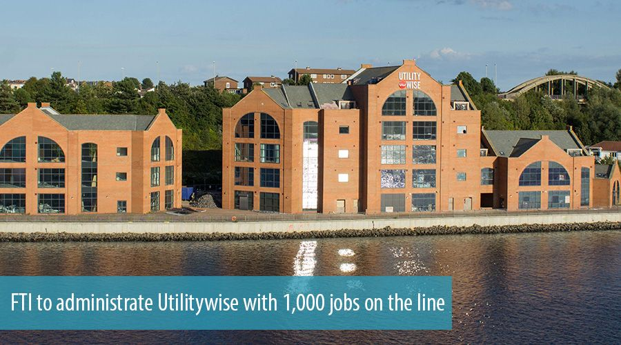 FTI to administrate Utilitywise with 1,000 jobs on the line