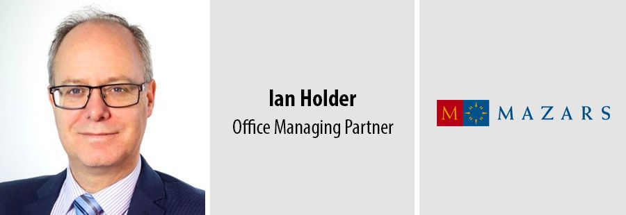 Ian Holder becomes Managing Partner at Mazars Birmingham