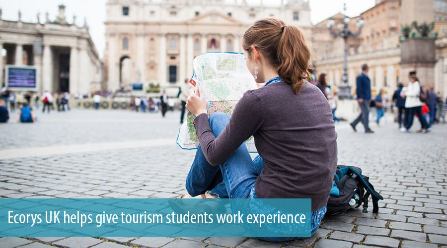 Ecorys UK helps give tourism students work experience