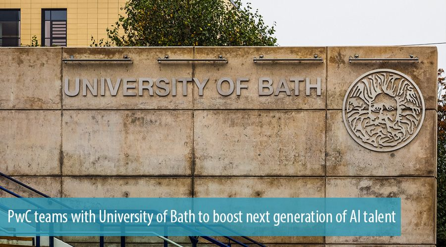 PwC teams with University of Bath to boost next generation of AI talent