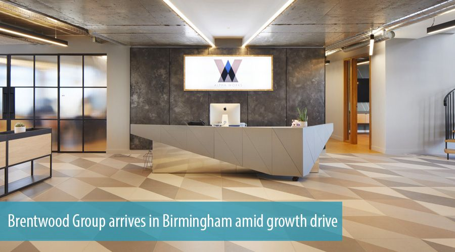 Brentwood Group arrives in Birmingham amid growth drive