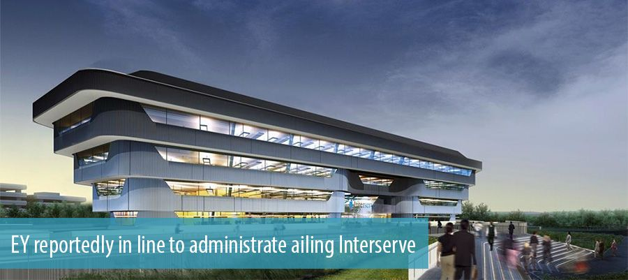 EY reportedly in line to administrate ailing Interserve
