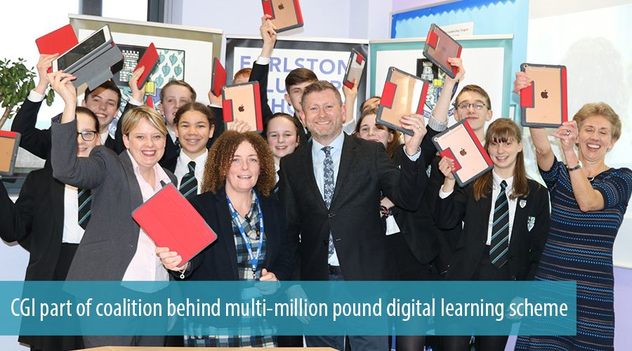 CGI part of coalition behind multi-million pound digital learning scheme