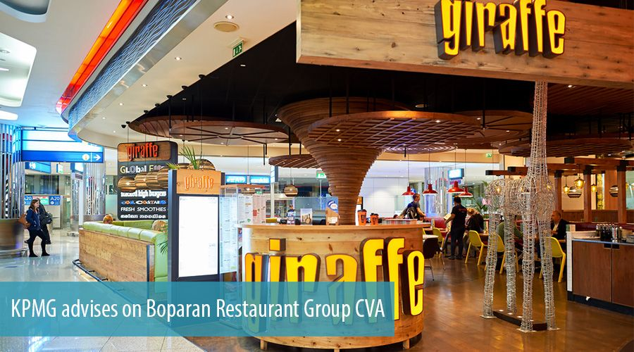 KPMG advises on Boparan Restaurant Group CVA
