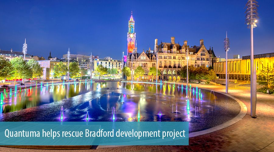 Quantuma helps rescue Bradford development project