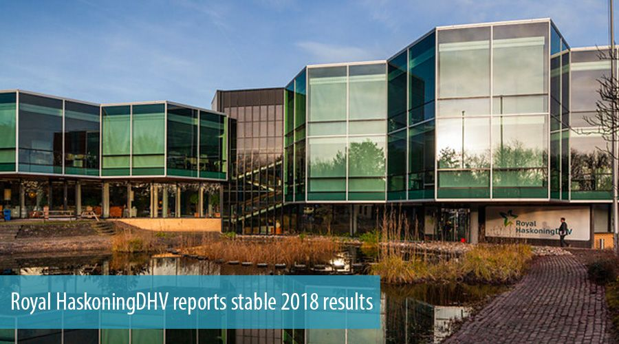 Royal HaskoningDHV reports stable 2018 results