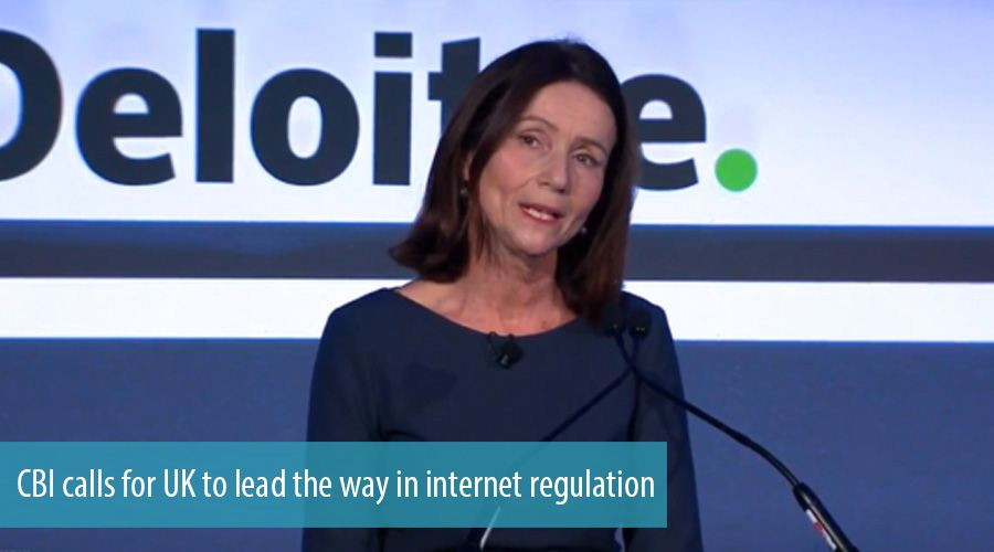 CBI calls for UK to lead the way in internet regulation