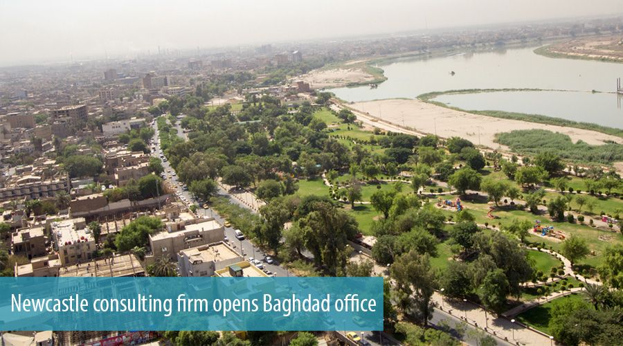 Newcastle consulting firm opens Baghdad office