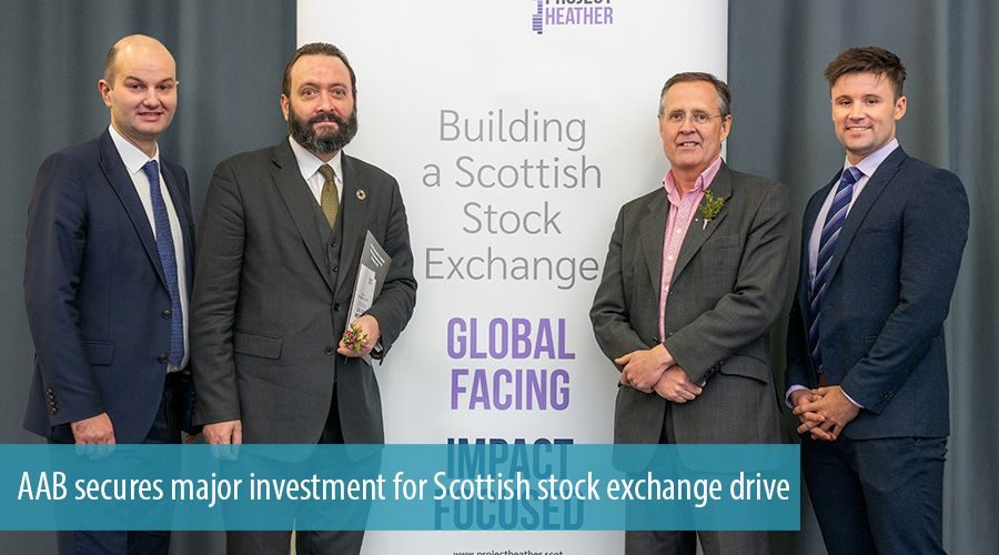 AAB secures major investment for Scottish stock exchange drive