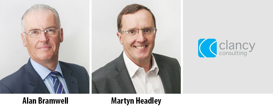 Alan Bramwell and Martyn Headley - Clancy Consulting