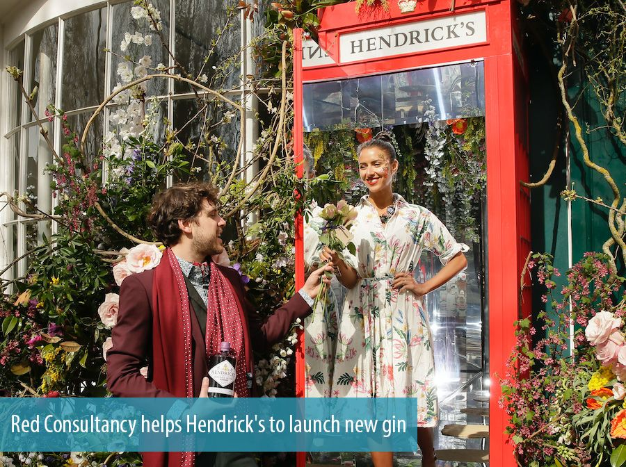 Red Consultancy helps Hendrick's to launch new gin
