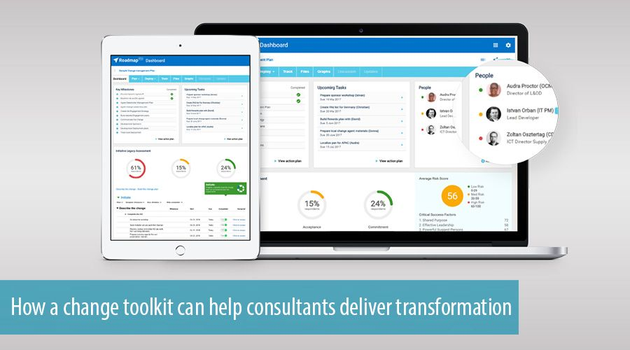 How a change toolkit can help consultants deliver transformation