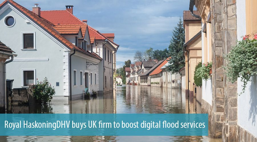 Royal HaskoningDHV buys UK firm to boost digital flood services