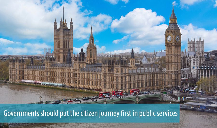Governments should put the citizen journey first in public services