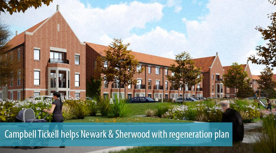 Campbell Tickell helps Newark & Sherwood with regeneration plan
