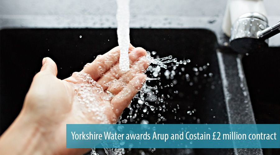 Yorkshire Water awards Arup and Costain £2 million contract