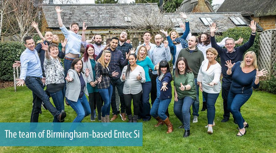 The team of Birmingham-based Entec Si