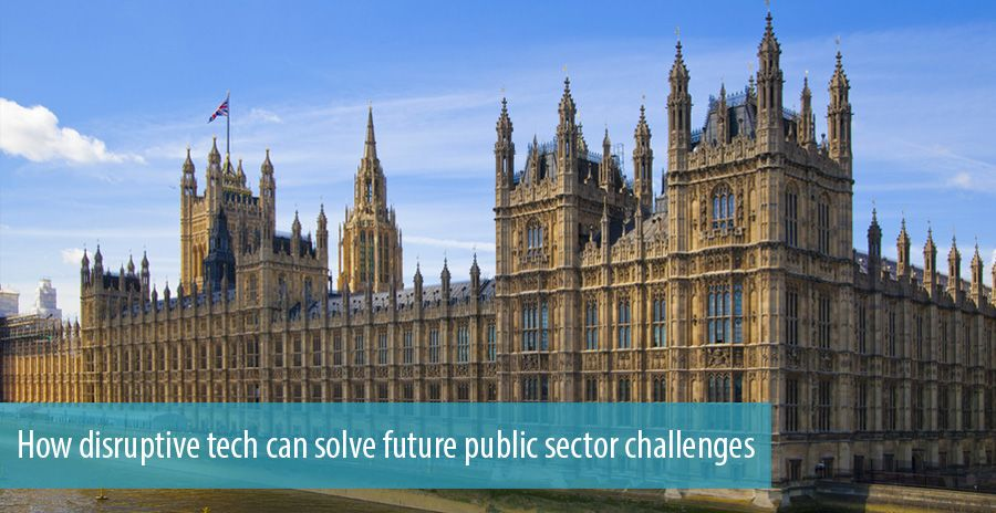 How disruptive tech can solve future public sector challenges