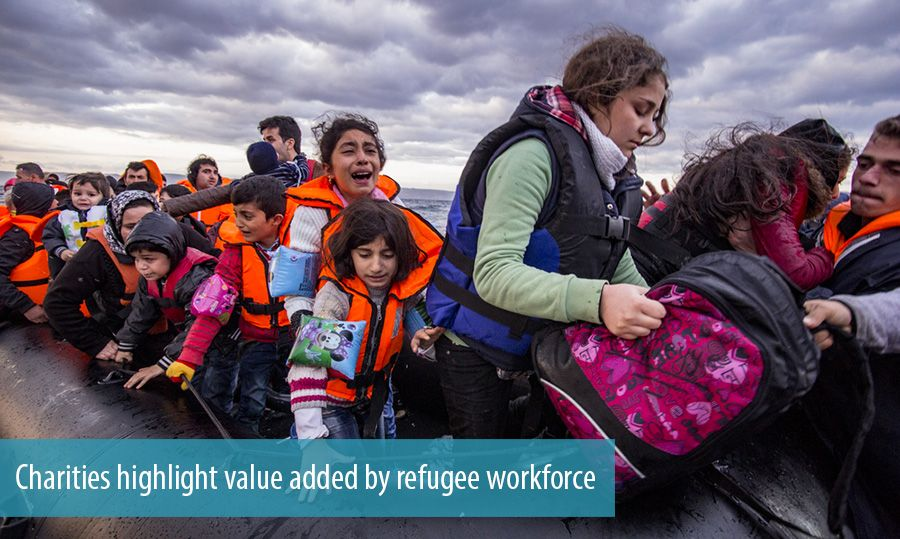 Charities highlight value added by refugee workforce