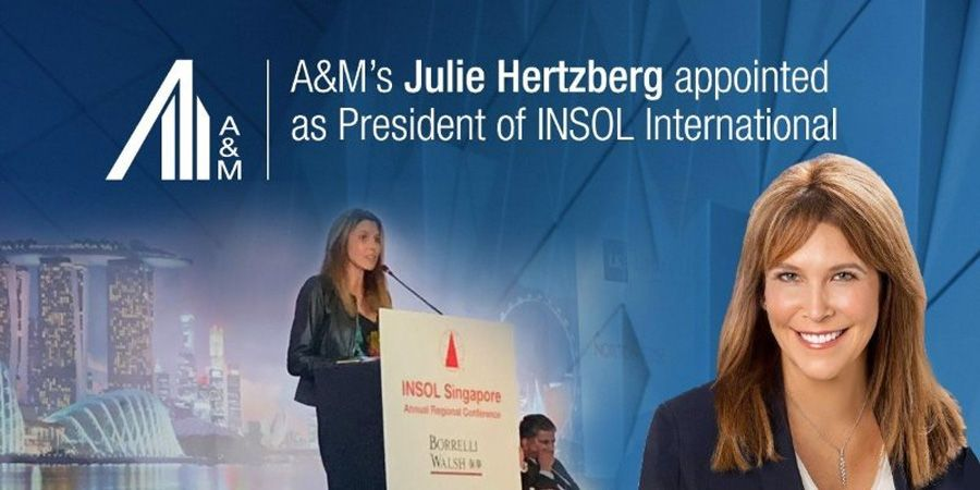 A&M's Julie Hertzberg first woman to lead Insol International