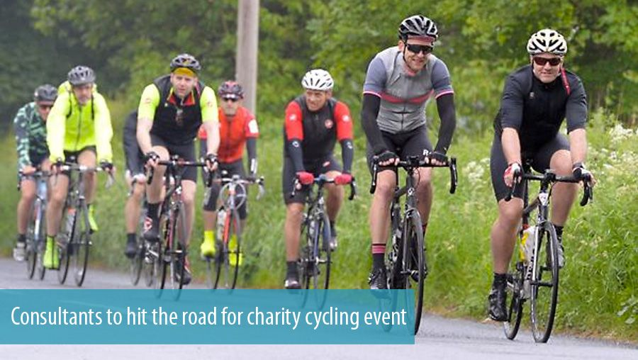 Consultants to hit the road for charity cycling event